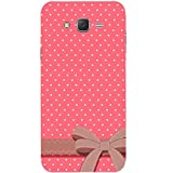 Casotec Gift Pattern Print Design Hard Back Case Cover for Samsung Galaxy J2