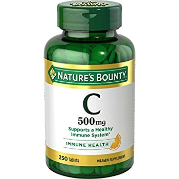 Nature's Bounty Vitamin C 500mg, 250 Tablets