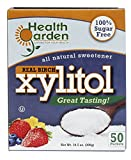 Birch Xylitol Sugar Free Sweetener Health Garden (50 Packets)