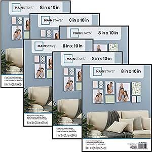 Amazon Com Mainstays 8x10 Picture Frames Set Of 6