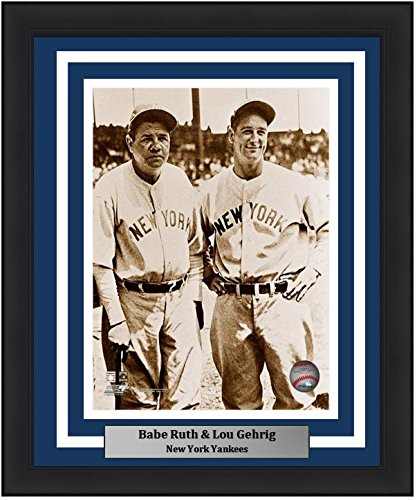 - Yankees Babe Ruth & Lou Gehrig 8