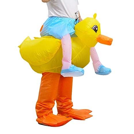 lem Disfraz de Mascota de Pato Adulto Disfraz de Rana ...