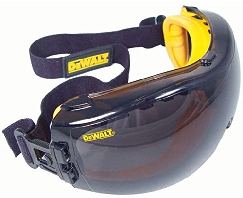 - DeWalt DPG82-21 Concealer SAFETY Goggle - Smoke Anti-Fog Lens (1 Pairper Pack)