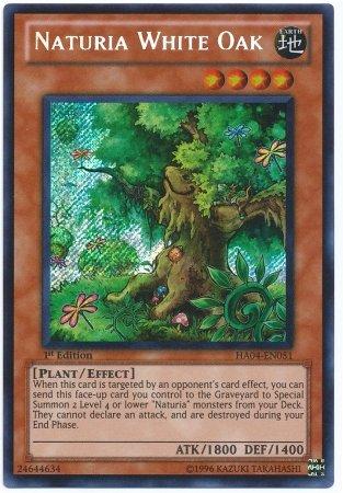 Yu-Gi-Oh! - Naturia White Oak HA04-EN051 - 5D's Hidden Arsenal 4 ()