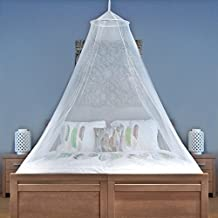 MOSQUITO NET For Single To King Size Beds - Quality Lightweight Materials, For Home And Travel - Easy To Carry & Setup With FREE Travel Bag & Canopy Hanging Kit