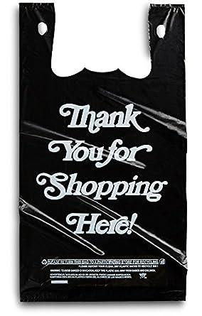 Amazon.com: Bolsas negras de plástico grandes, 350 ...