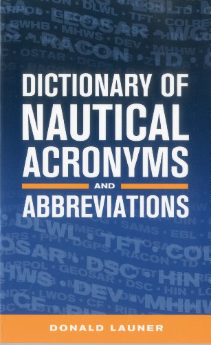 Dictionary of Nautical Acronyms