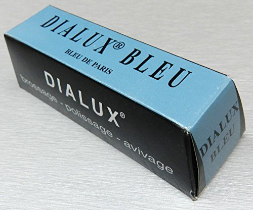 Mfg Metal - DIALUX POLISHING COMPOUND BLUE DIALUX BLEU POLISH ROUGE FINAL POLISH FOR METALS (E 4)