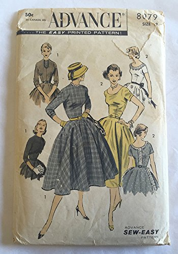 50s and 60s dress patterns - 3