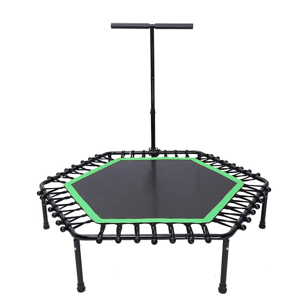 Fitness-Trampolin - Home Trampolin für Erwachsene - Indoor Indoor mit Armlehnen-Trampolin-Outdoor-Erholung