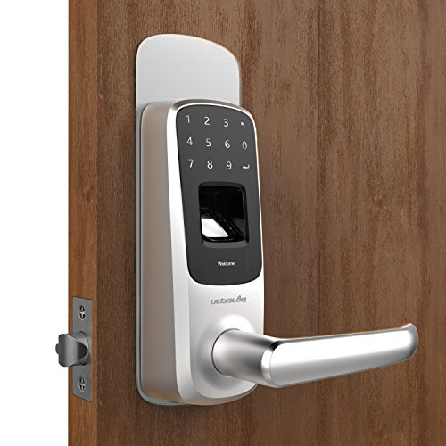 ULTRALOQ UUL-UL3-DCP-SN 5-in-1 Keyless Entry Electronic Door Handle, Accessory - Deadbolt Cover Plate, Satin Nickel