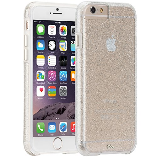 Case-Mate iPhone 6 Case - NAKED TOUGH - Sparkle Effect - Slim Protective Design for Apple iPhone 6 and 6s - Sheer Glam