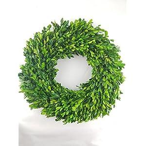 "Preserved Boxwood Wreath - 17"" 75"