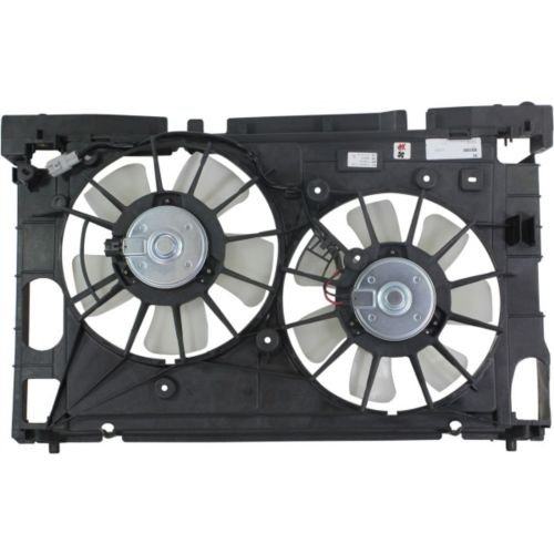 MAPM Premium PRIUS 10-13 RADIATOR FAN SHROUD ASSEMBLY by Make Auto Parts Manufacturing