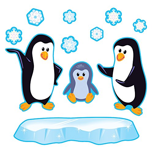 Trend Enterprises Playful Penguins Bulletin Board Set (T-8202)