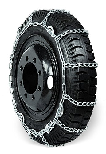 Grizzlar GSL-2245CAM Truck Ladder CAM Twist Link Alloy Tire Chains 10.00-20 11-22.5 285/70-24.5 10.00/90-20 13/80-20 by Grizzlar