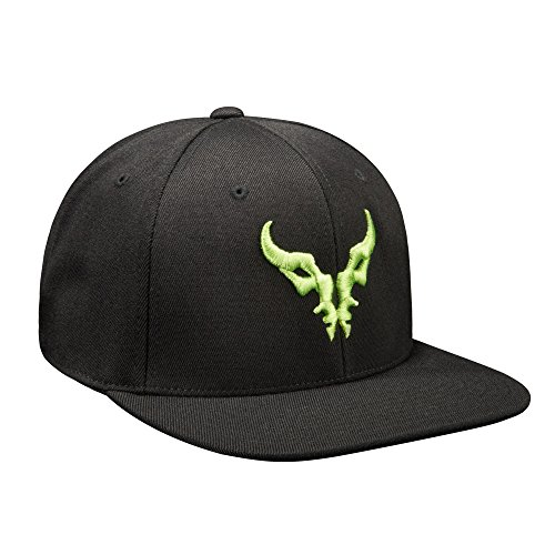 JINX World of Warcraft: Legion Logo Snapback Baseball Hat (Black, One Size)
