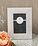 Fashioncraft Wide Border Metallic Frame from Gifts, Silver