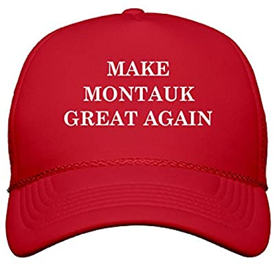 Make Montauk Great Again: OTTO Poly-Foam Snapback Trucker Hat