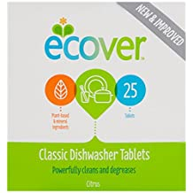Ecover Dishwasher 25 Tablets (Pack of 2)