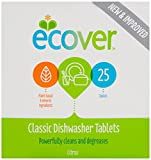 Ecover Dishwasher 25 Tablets (Pack of 2) by Ecover