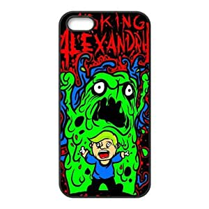 Asking Alexandria Design Solid Rubber Customized Cover Case for iPhone 5 5s 5s-linda328
