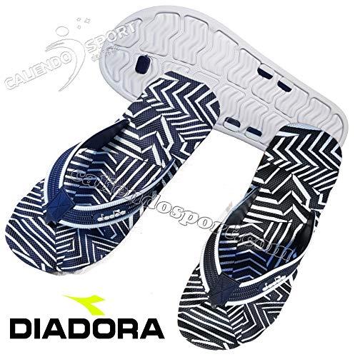 Diadora Uomo Nero Coral Piscina Infradito 4 171941 Donna Blu Beach Mare wEYqdgq