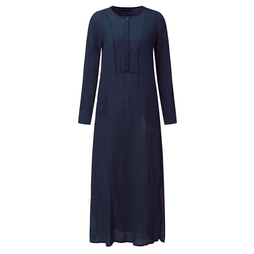 7d4500673397f0 ❤Damen Leinen Hemdkleid Lang Kleid Mit Kapuze Elegant Hemdbluse Hemd  Kleider Damen Leinenkleid Freizeithemd Schwarzes Kleid T Shirtkleid für  Damen ...