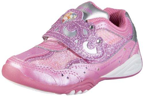 Stride Rite Disney Wish Light-Up Aurora Sneaker (Toddler/Little Kid),Pink/Silver,2 M US Little - Wish Pink Little