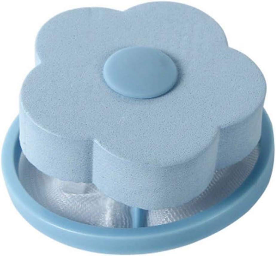 Omkuwl Bolsa de filtro de malla Lavadora de estilo flotante Dispositivo de eliminaci/ón de pelo de filtraci/ón de lana Bola de lavander/ía
