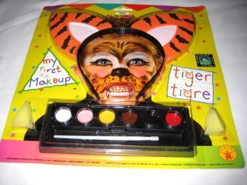 Costumes Tiger Kit (Rubie's Costume Co My 1St Makeup Kit-Tiger)