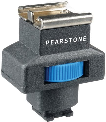 AIS Pearstone SSA-III Active Interface Shoe Adapter for Sony Camcorders 4 Pack