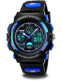 Kids Watches, Boys Mulitfunction Sports Watches 50M...