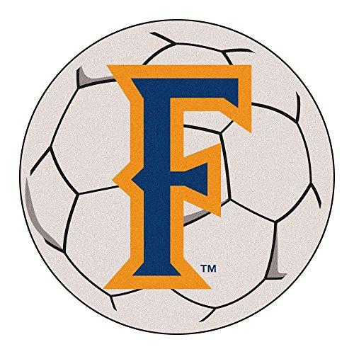 Soccer Cal Ball Fullerton State - FANMATS NCAA Cal State - Fullerton Titans Nylon Face Soccer Ball Rug