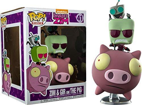 Funko Pop! Rides #41 Invader Zim: Zim and Gir on The Pig
