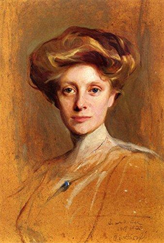 Miss Faith Moore, A Study Portrait by Philip Alexius De Laszlo 32'' x 24'' Oil on Canvas Reproduction Painting by Cutler Miles
