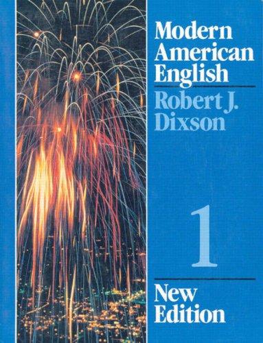 Modern American English Series 1, New Edition