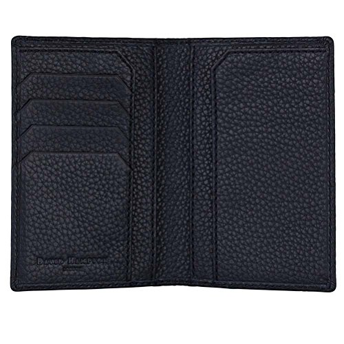 David Hampton Leather Passport Holder Midnight Richmond by David Hampton