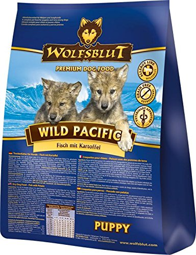 Wolf sangre Wild Pacific Puppy, 1er Pack (1 x 2 kg): Amazon.es ...