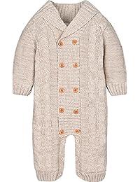 ZOEREA Newborn Baby Romper Jumpsuit Long Sleeve Christmas Sweater Deer 0-18M