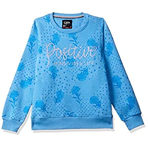 Qube By Fort Collins Girl's Fleece Sweatshirt