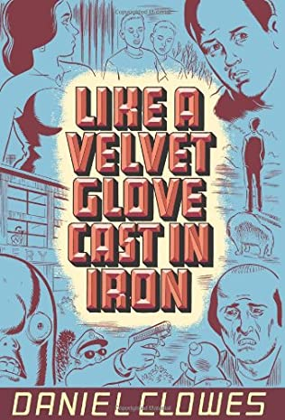 book cover of Like a Velvet Glove Cast in Iron