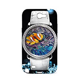Cartier Watch Phone Delicate Colors Design 3D Protective Case Snap on Samsung Galaxy Note 2 N7100 Luxury Cartier Series