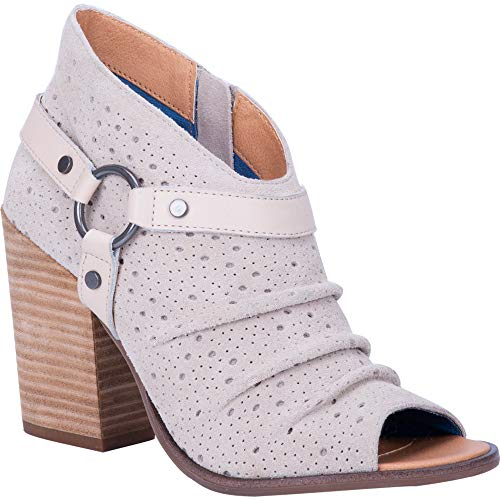 "Dingo Fashion Boots Womens Spurs 4"" Shaft 9.5 M Off White DI102"