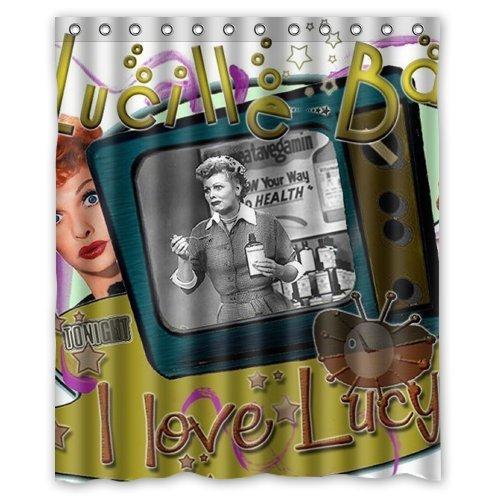 I Love Lucy Custom Shower Curtain 60