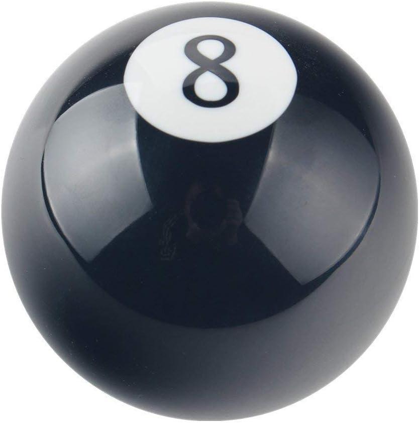 Xnbnsj Bola redonda con forma de bola número 8 para coche de billar automático manual palanca de cambio de palanca de cambios, negro: Amazon.es: Bricolaje y herramientas