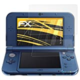 atFoliX Screen Protector for Nintendo New 3DS XL 2015 Screen Protection Film, anti-reflective and shock-absorbing FX Protector Film (Set of 3)
