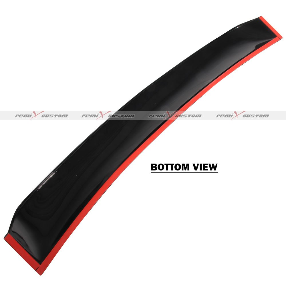 Remix Custom Rear Roof Window Visor Spoiler Wing for 2012-2015 Honda Civic 2DR Coupe