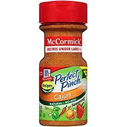 McCormick Perfect Pinch Cajun Seasoning, 3.18 oz