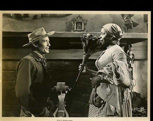Gregory Peck Butterfly Mcqueen Duel In The Sun Original 8x10